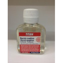 Barniz Cuadros Brillante 100 ml Titan
