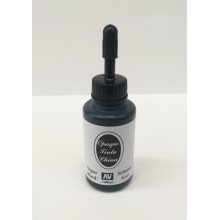 Tinta china opaca NEGRA - Vallejo 23 ml