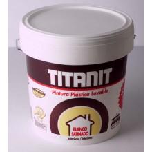 Pintura Plastica Exteriores Satinado - Titan