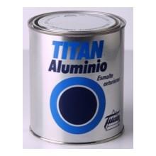 Titán Esmalte Aluminio Exteriores
