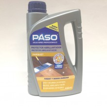 Abrillantador protector parquet PASO profesional 1 L.