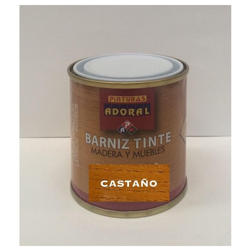 Barniz tinte sint tico para madera y muebles adoral - Barnices para madera exterior ...
