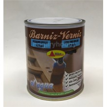 Barniz al agua incoloro Brillo 375 ml