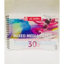 Bloc dibujo Artes Mixtas 250 gr. Art Creation - Royal Talens