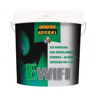Pintura plástica EWIFI anti radiaciones. Interior - exterior