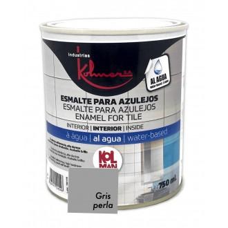 Esmalte para azulejos Kolman 750 ml Gris Perla- Kolmer