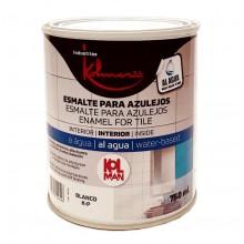 Esmalte para azulejos Kolman 750 ml Blanco - Kolmer