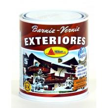 Promade - Barniz para madera de exterior Brillante al agua 750 ml