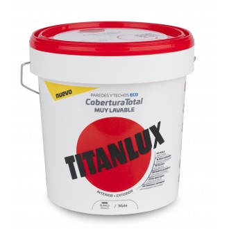 Titanlux Cobertura Total 4L. PP Interior - Exterior Mate - Titan