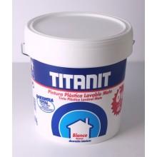 Titanit Pintura Plástica Blanco Mate - Titan