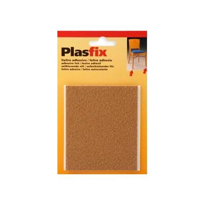 Fieltro Adhesivo Marrón PLASFIX Mod. 4078 - INOFIX