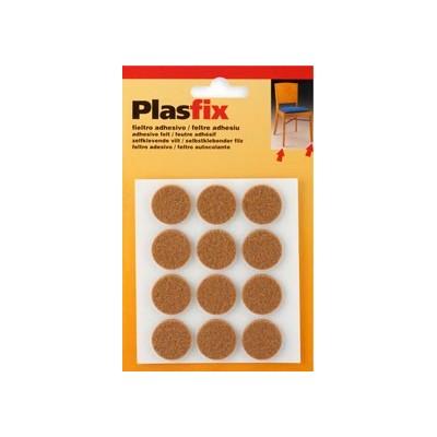 Fieltro Adhesivo Marrón PLASFIX Mod. 4072 - INOFIX