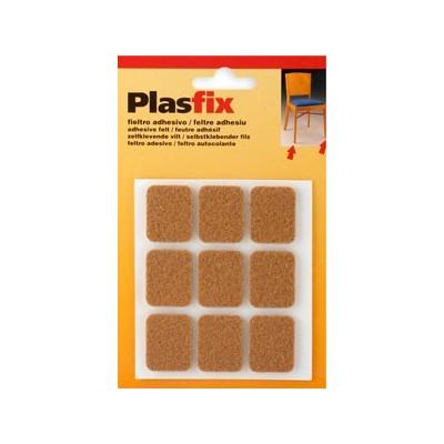 Fieltro Adhesivo Marrón PLASFIX Mod. 4076 - INOFIX