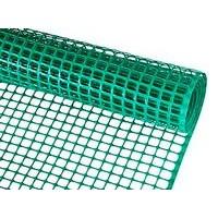 Malla plástica verde