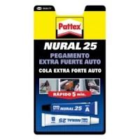 Nural 25 Pegamento Extrafuerte Auto PATTEX