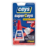 Instant Glue Unick con pincel 5 gr. CEYS