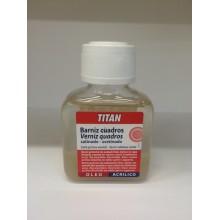 Barniz Cuadros Satinado 100 ml Titan
