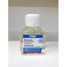 Esencia de Trementina Rectificada 100 ml - Titan