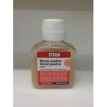 Barniz Cuadros Mate100 ml Titan