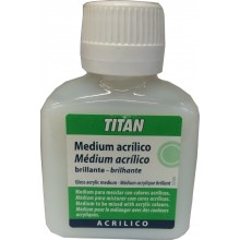 Medium Acrílico Brillante 100 ml - Titan