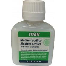 Medium Acrílico Brillante 100 ml - Titan