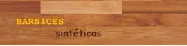 Barnices sintéticos para madera